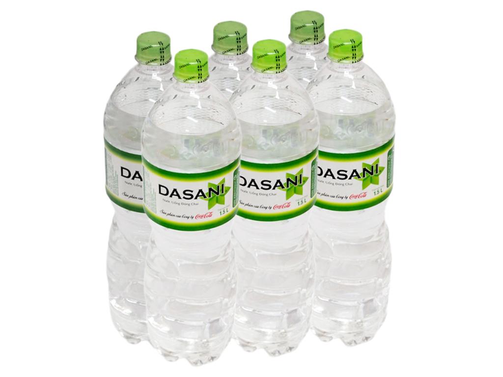 Thùng nước suối Dasani 500ml gồm 24 chai chất lượng