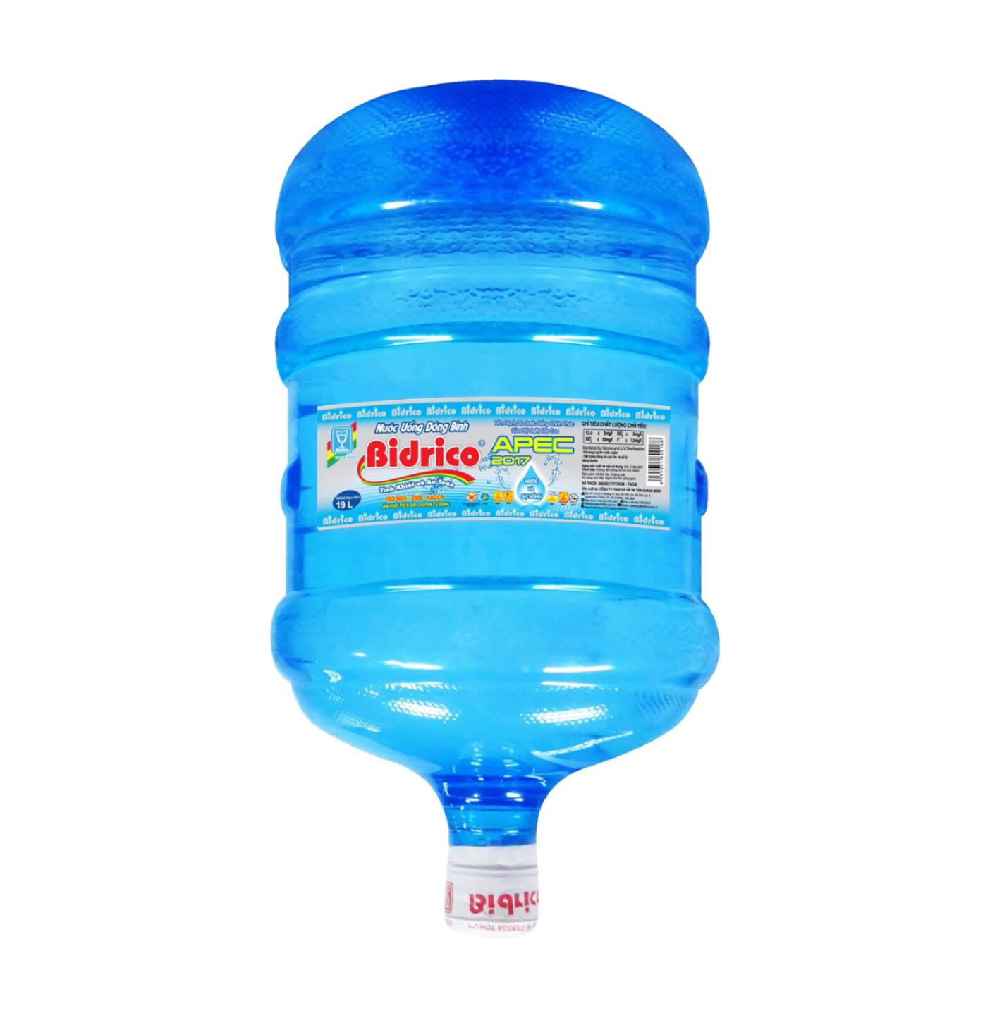Nước uống đóng bình Bidrico 20l up tại quận Gò Vấp