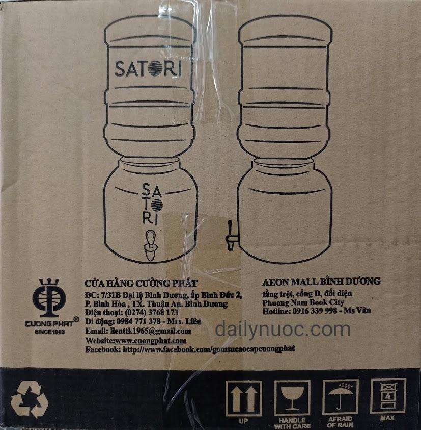 Bình sứ đựng nước có vòi chính hãng, giá rẻ tại Tp.HCM