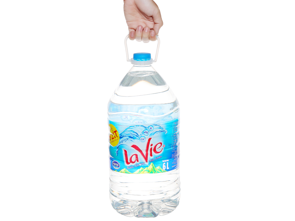 Bình Nước Lavie 5L tiện dụng, dễ dùng trong sinh hoạt hàng ngày