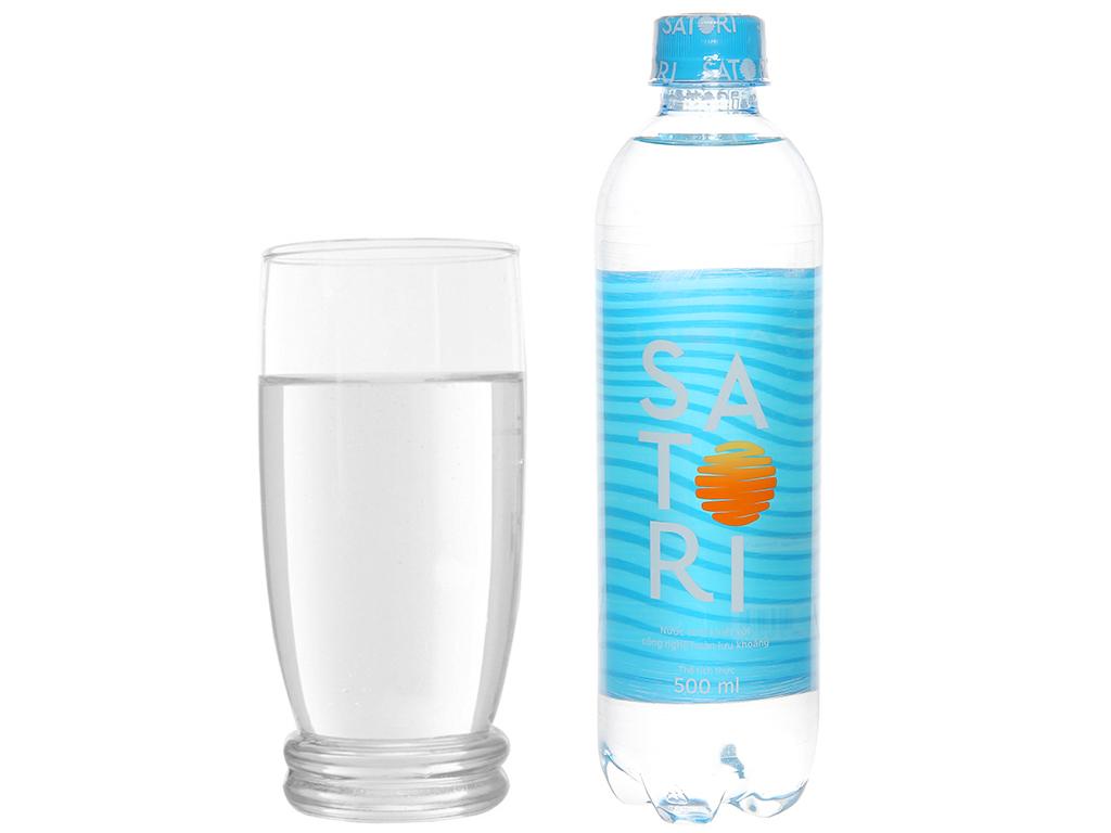 Nước uống Satori 500ml thùng 24 chai tốt cho khỏe