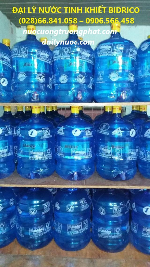 Đại lý nước bình 20l - Chất lượng an toàn