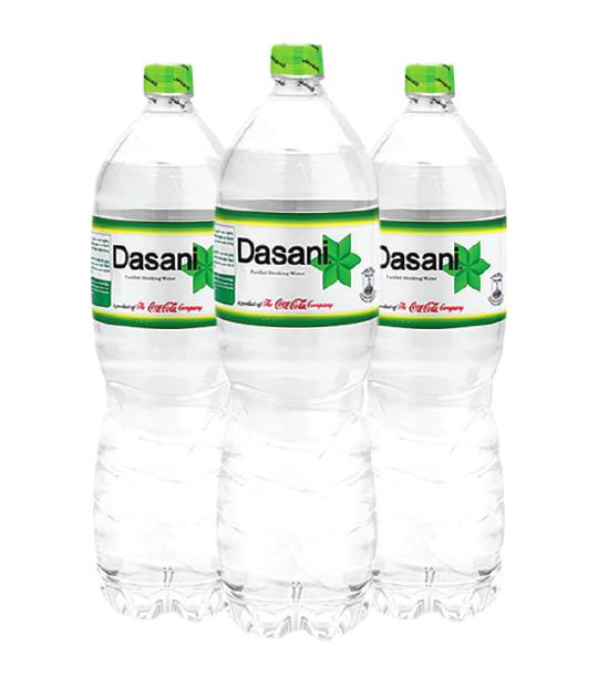 Thùng nước suối Dasani 1.5l  gồm 12 chai với giá 90.000đ/thùng