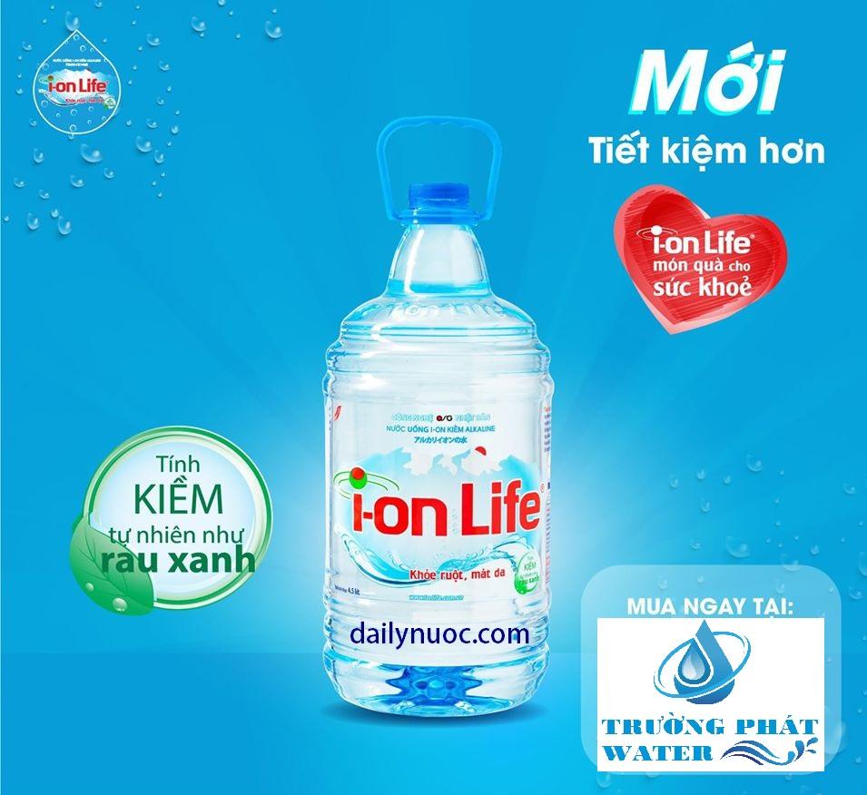 Nước suối Ion Life từ thiên nhiên rất tốt cho sức khỏe