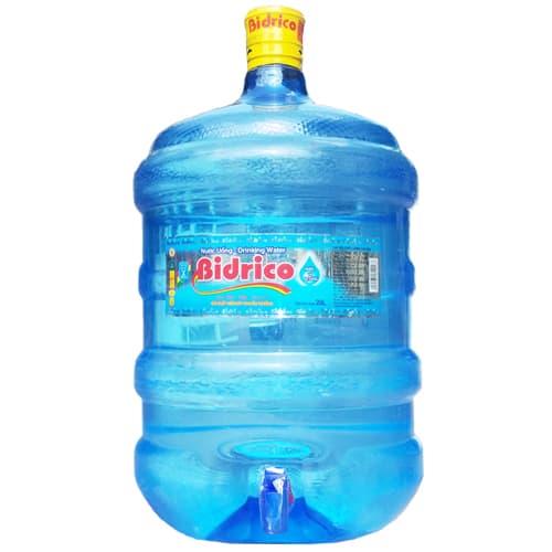 Nước suối đóng bình bidrico 20l giá rẻ tại quận bình thạnh