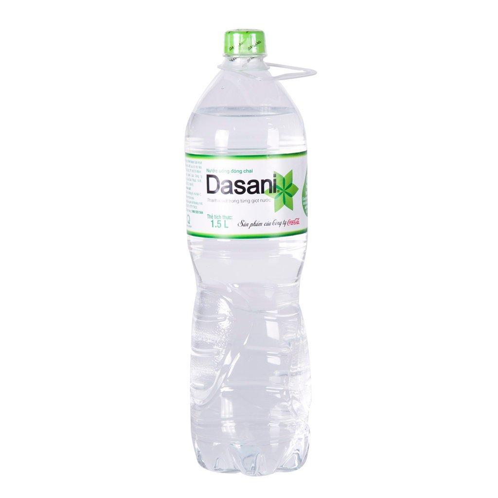 Thùng nước suối Dasani 1.5l gồm 12 chai
