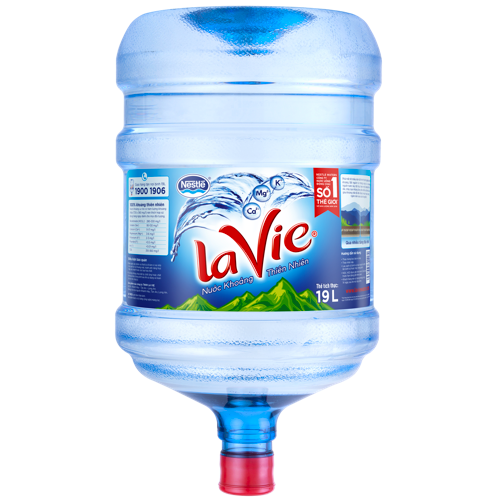 Nước uống đóng bình Lavie 19l up tại quận Gò Vấp
