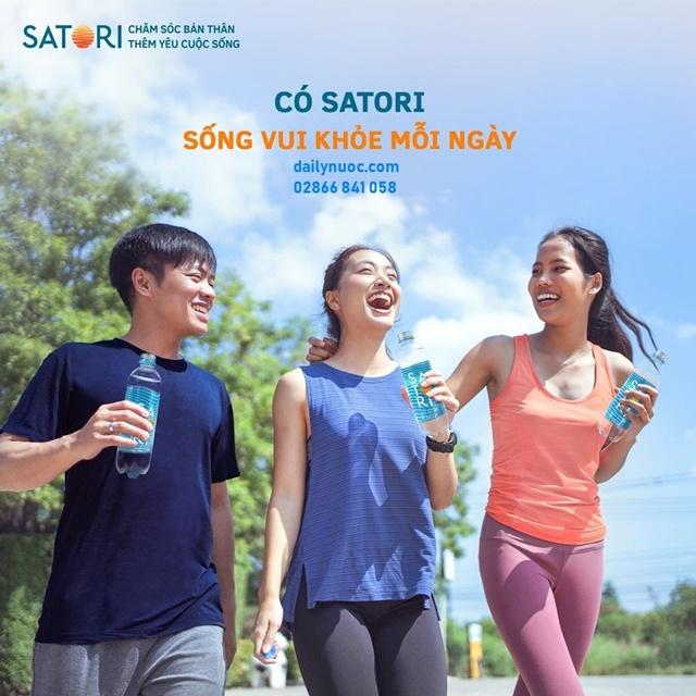 Nước uống Satori - Nước tinh khiết công nghệ tiên tiến tốt cho sức khỏe