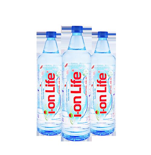 Nước uống Ion Life 1.25l thùng 12 chai tiện dụng dễ dàng vận chuyển