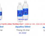 Bảng Giá Nước Suối Aquafina 350ml, 500ml,1.5l
